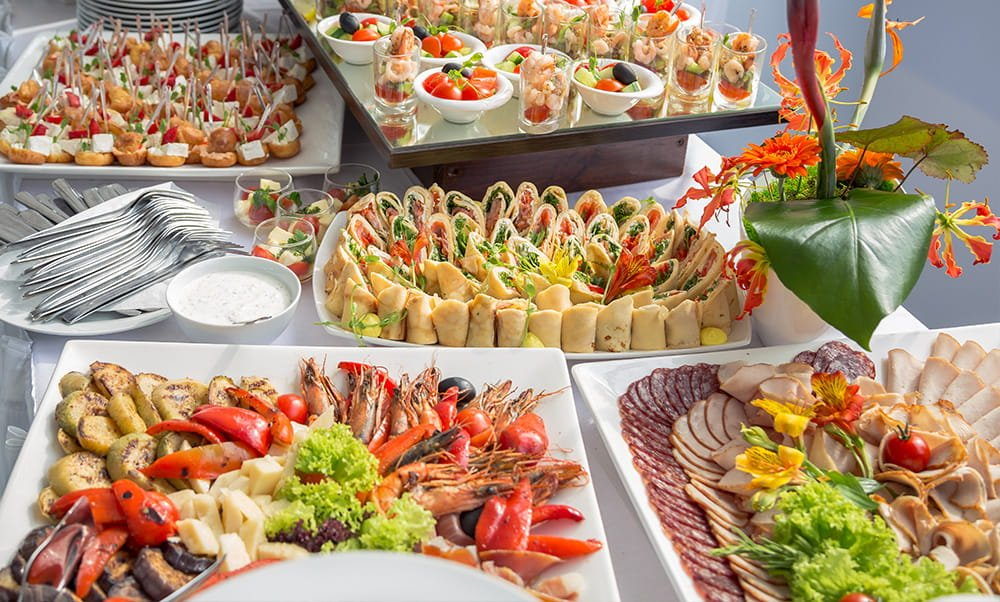 corporate catering in Houston