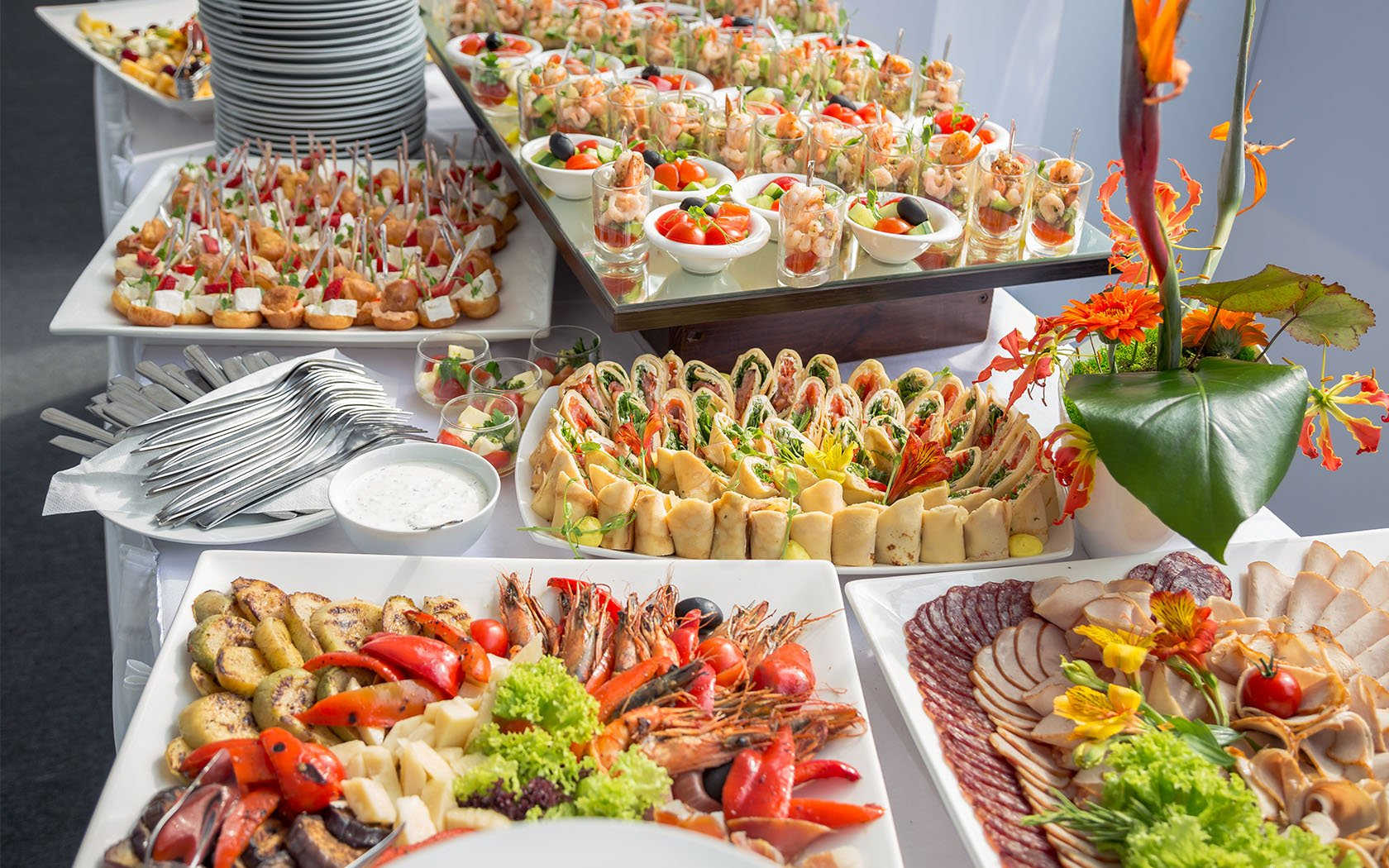 corporate catering in Texas